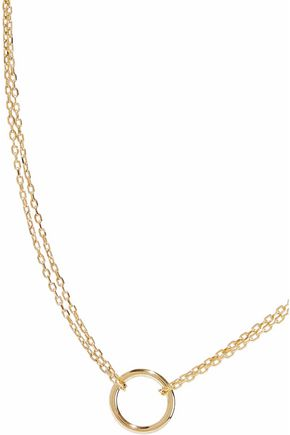 IRIS & INK Alice 18-karat gold-plated sterling silver necklace