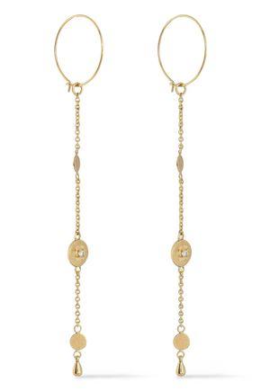 LUV AJ Gold-tone earrings