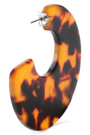 IRIS & INK Tortoiseshell acrylic earrings