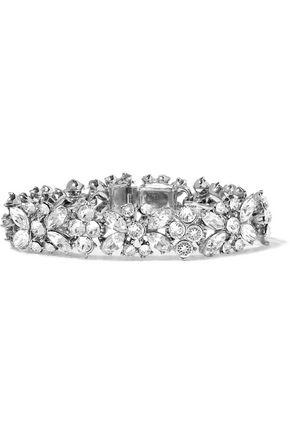 BEN-AMUN Silver-plated Swarovski crystal bracelet