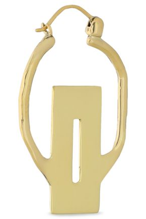 ELLERY Gold-tone hoop earrings