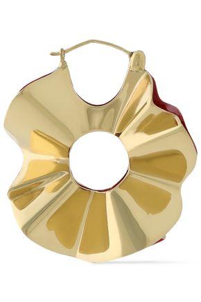 ELLERY Beton gold-tone earrings