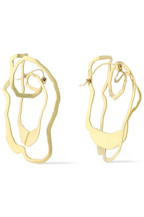ELLERY Erno gold-plated earrings