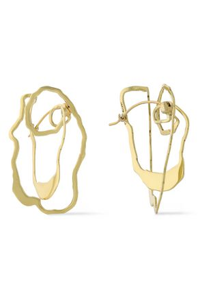 ELLERY Vigano gold-plated earrings