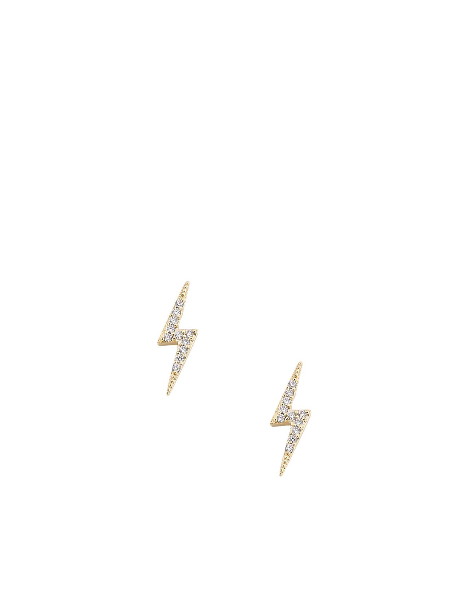 《送料無料》ESTELLA BARTLETT レディース イヤリング ゴールド 金属 / キュービックジルコニア