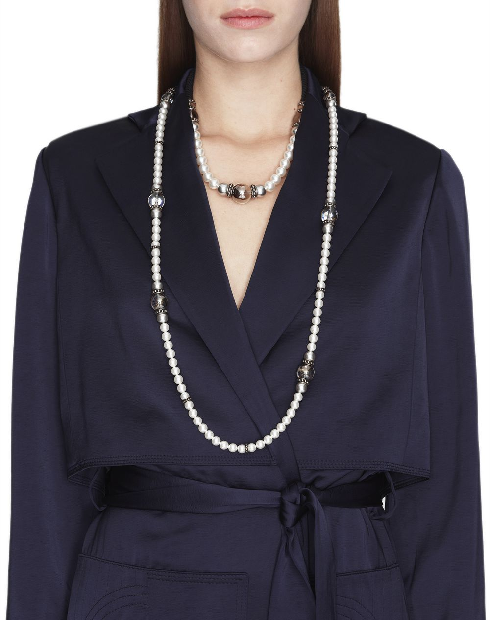 "LONG ""PEARLS"" NECKLACE - Lanvin"