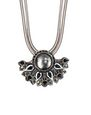 "LANVIN Necklace Woman BLACK ""COSMIC MOON"" NECKLACE f"