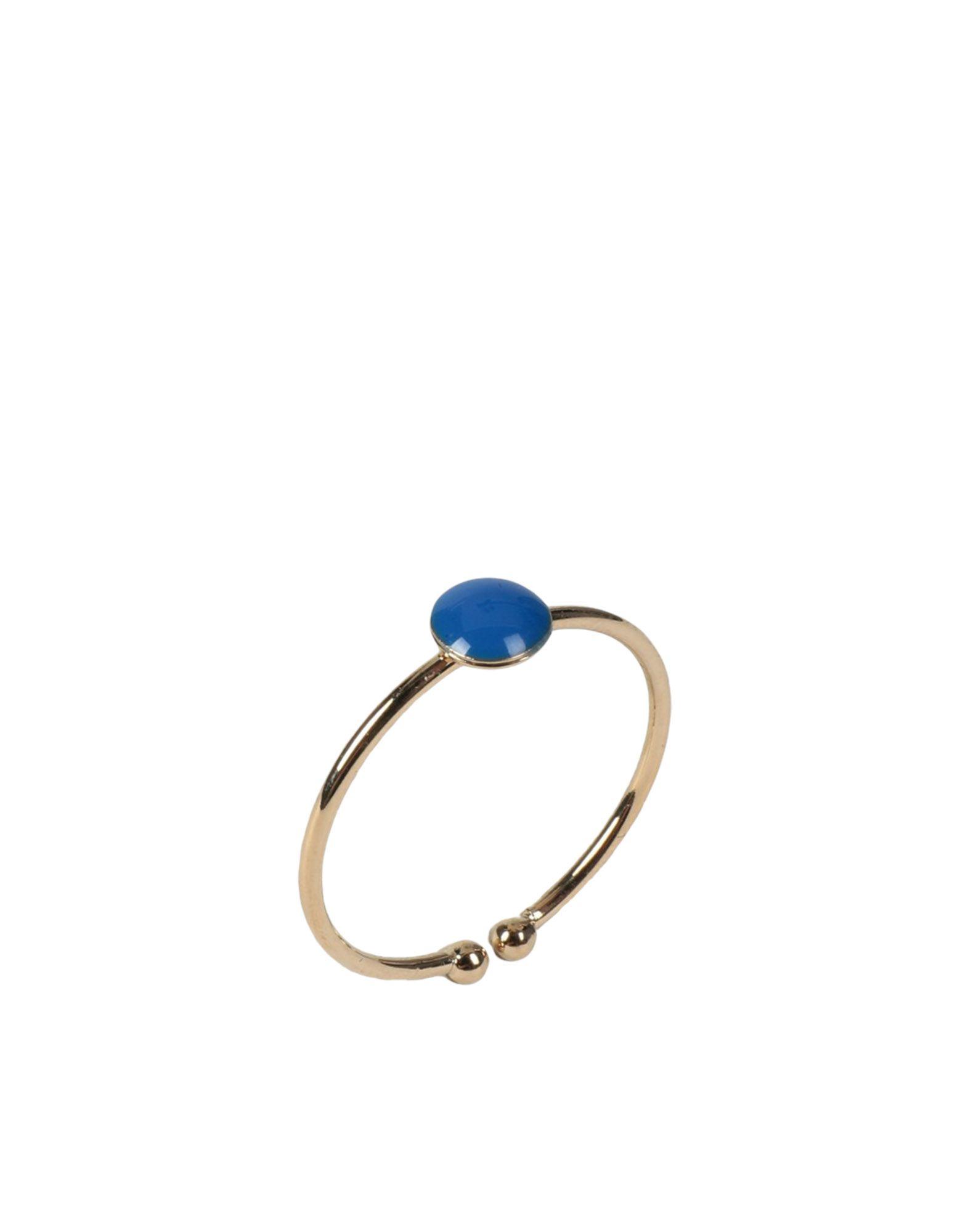 《セール開催中》TITLEE レディース 指輪 ゴールド one size 真鍮/ブラス / エポキシ樹脂