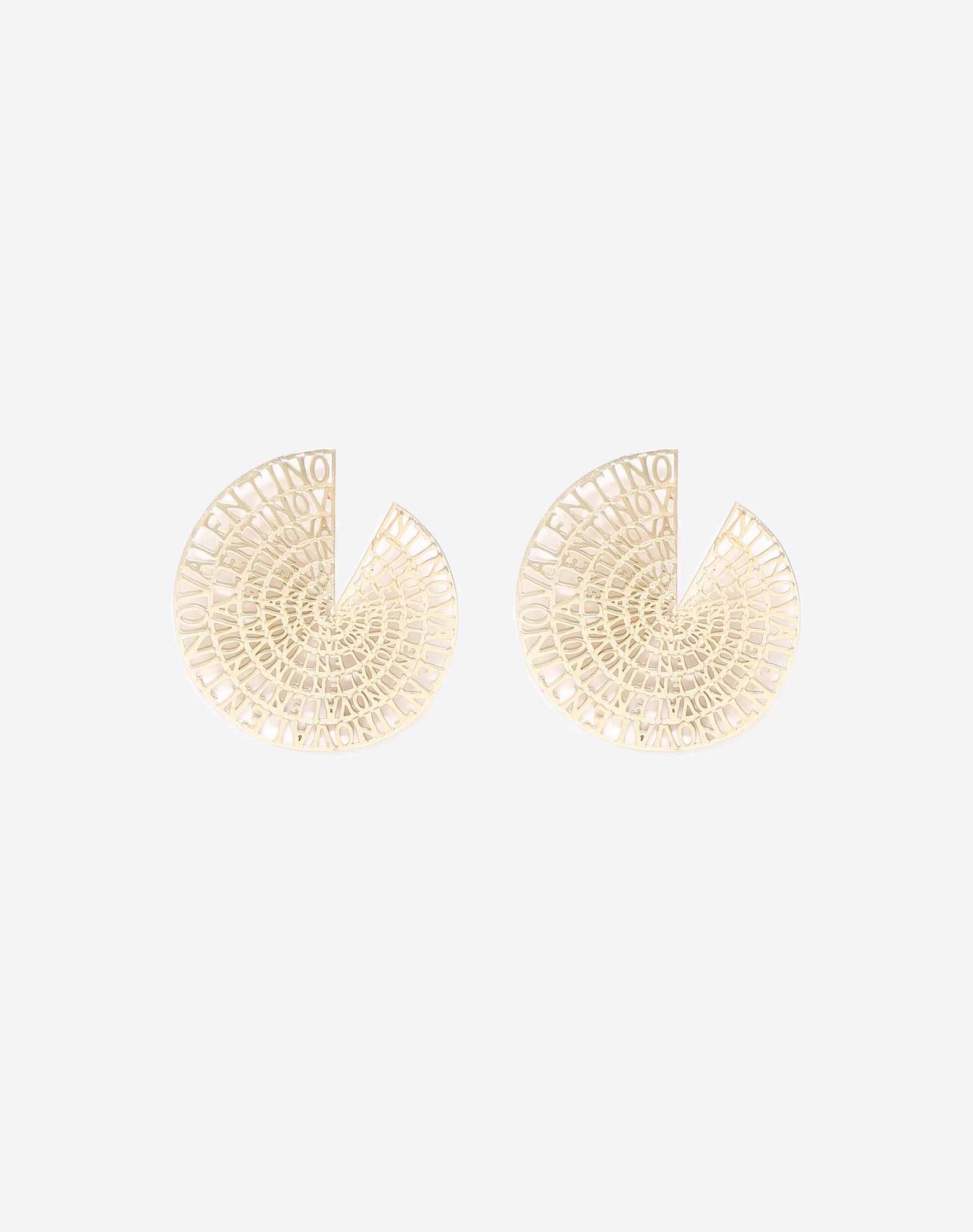 Earrings with Valentino logo detail