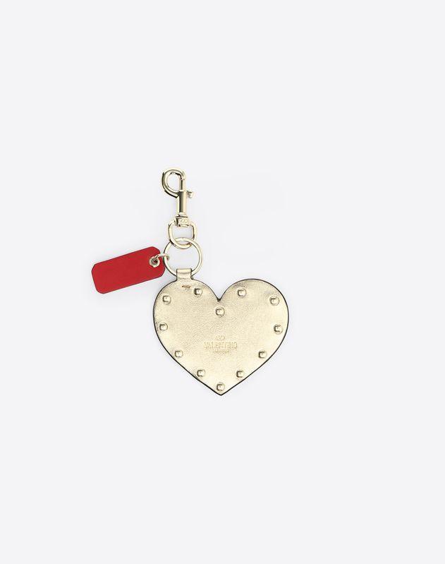 Rockstud Spike Heart Charm