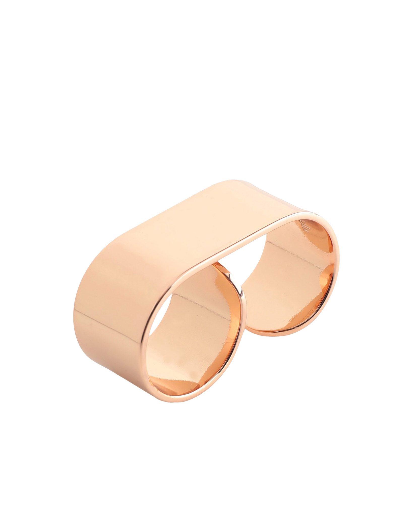 《セール開催中》MAISON MARGIELA レディース 指輪 カッパー 17 真鍮/ブラス 100%