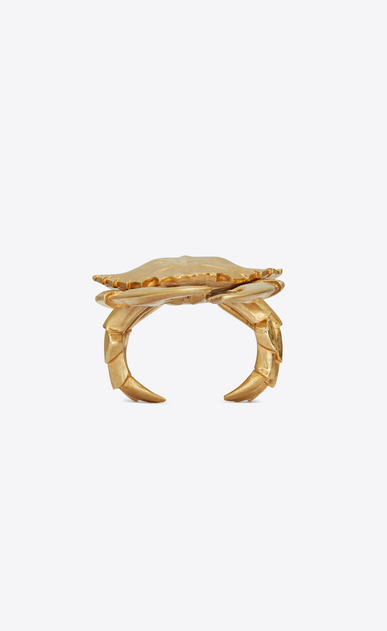 ANIMALIER Crab cuff in metal