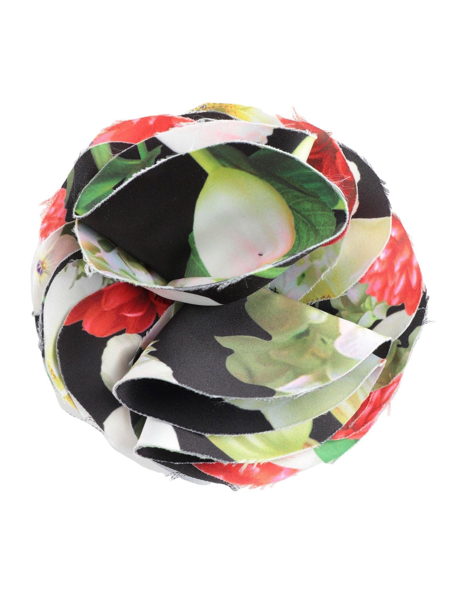 YOOX.COM(ユークス)《セール開催中》GIADA CURTI RESORT レディース ブローチ グリーン 紡績繊維