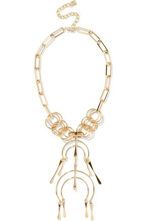 DANNIJO Kammy gold-tone necklace