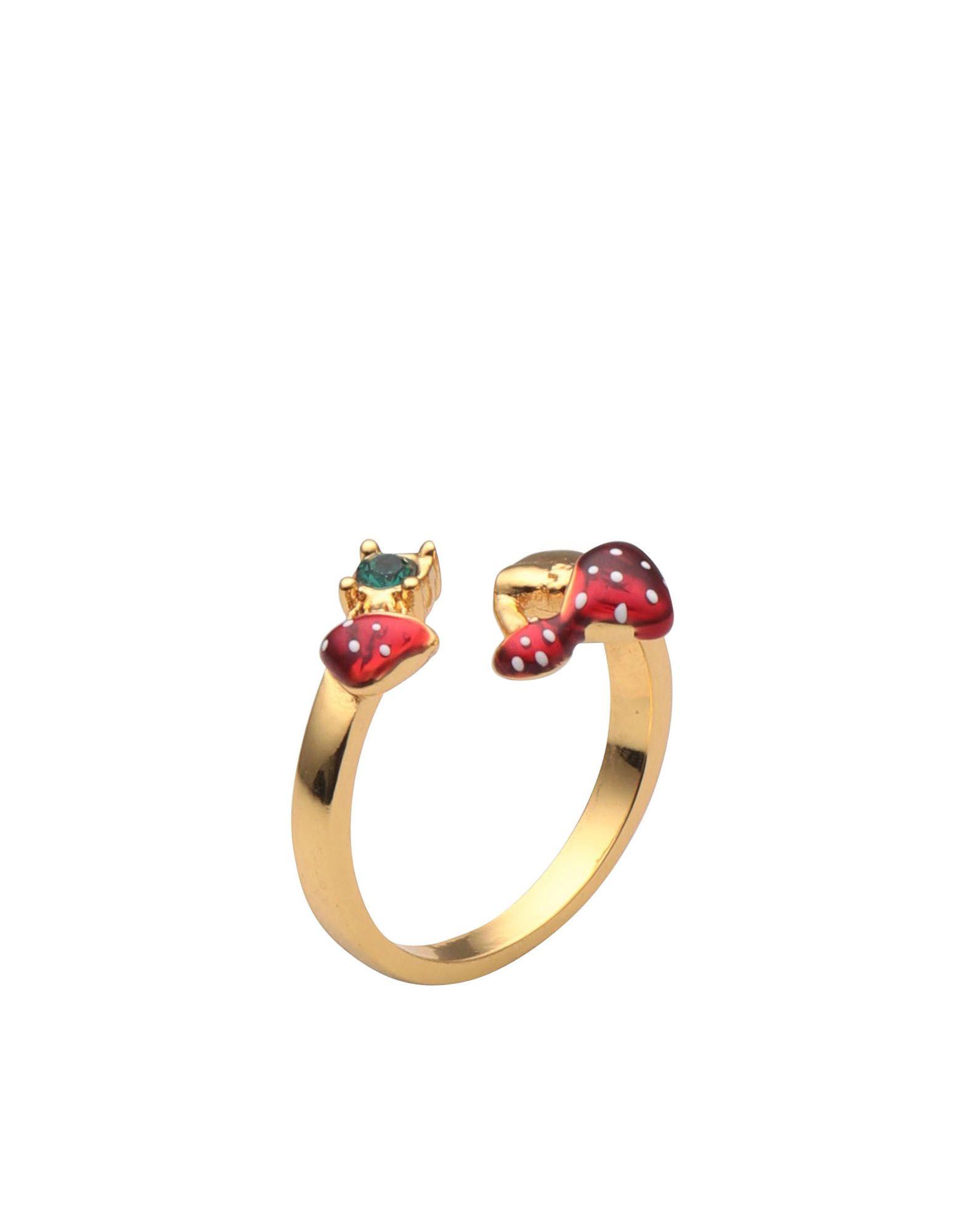 《期間限定セール開催中!》BILL SKINNER レディース 指輪 ゴールド one size 真鍮/ブラス / 18金メッキ TOADSTOOL OPEN RING