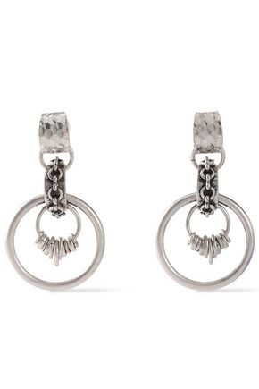 DANNIJO Oxidized silver-plated earrings