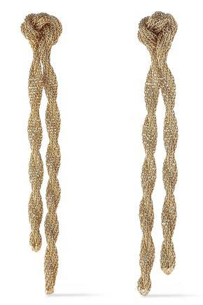 ROSANTICA Ira gold-tone chain earrings
