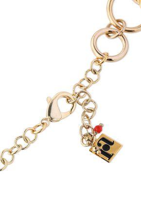 ROSANTICA Paradiso gold-tone ring-embellished necklace