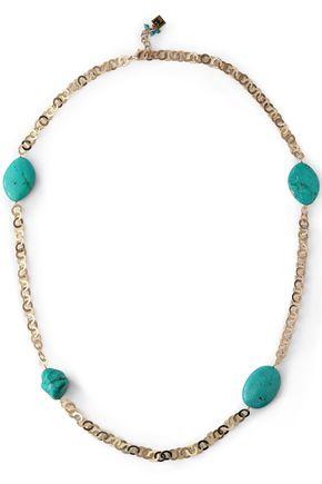 ROSANTICA Gold-tone stone necklace