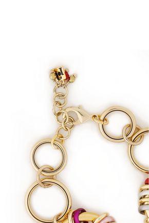 ROSANTICA Gold-tone coated ring bracelet
