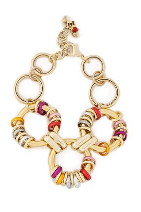ROSANTICA Gold-tone coated ring bracelet