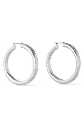 DANNIJO Silver-tone hoop earrings