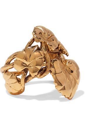 AURÉLIE BIDERMANN Gold-tone ring