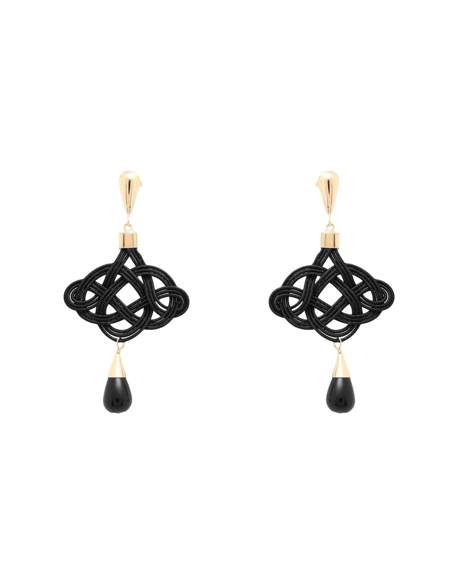 ANNA E ALEX Earrings in Black