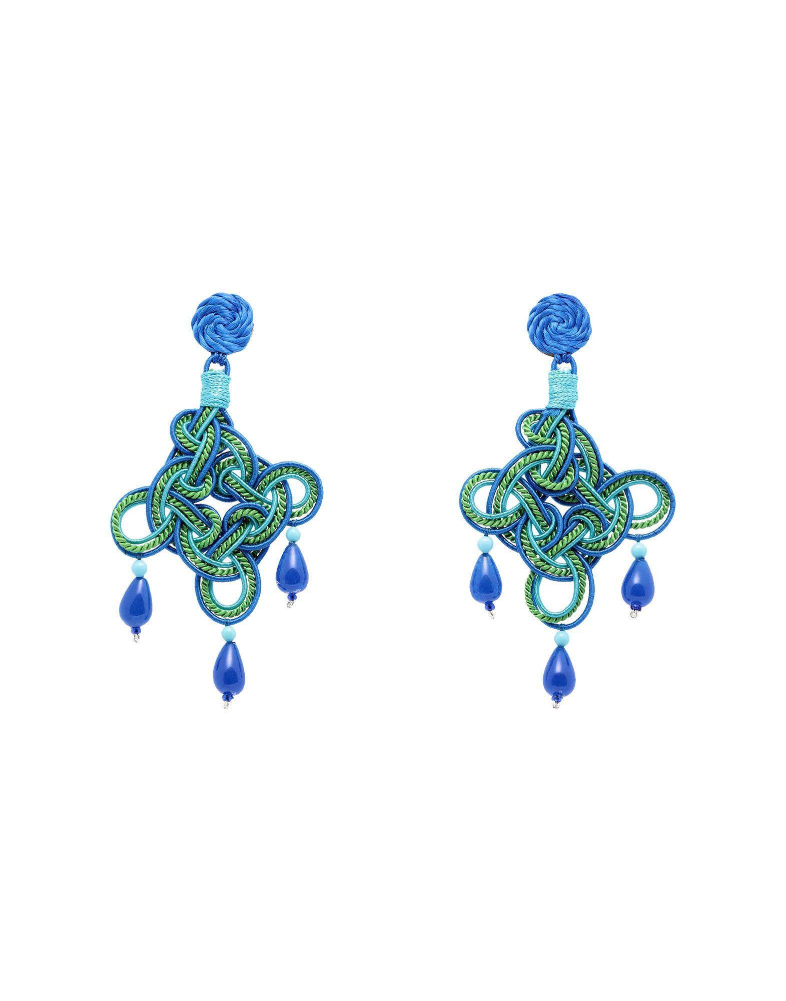 ANNA E ALEX Earrings in Green