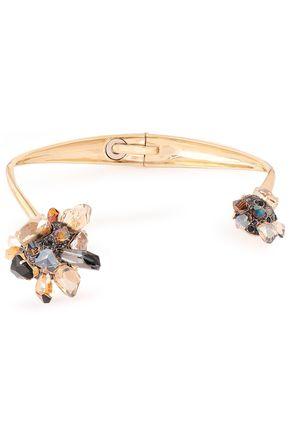 LANVIN Gold-tone crystal choker