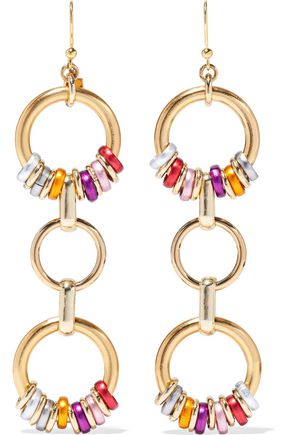 ROSANTICA Paradiso gold-tone earrings