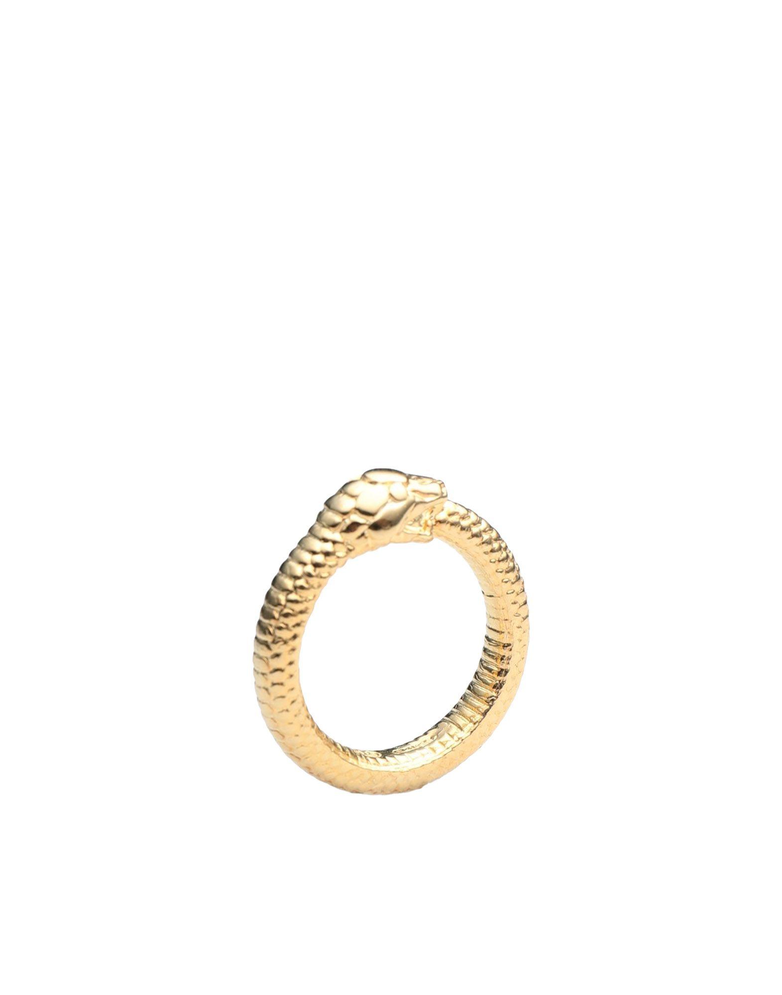 《期間限定 セール開催中》NOVE25 レディース 指輪 ゴールド 11 シルバー925/1000 GOLD PLATED OUROBOROS RING