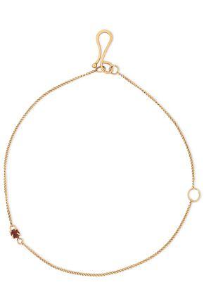 MELISSA JOY MANNING 14-karat gold garnet bracelet