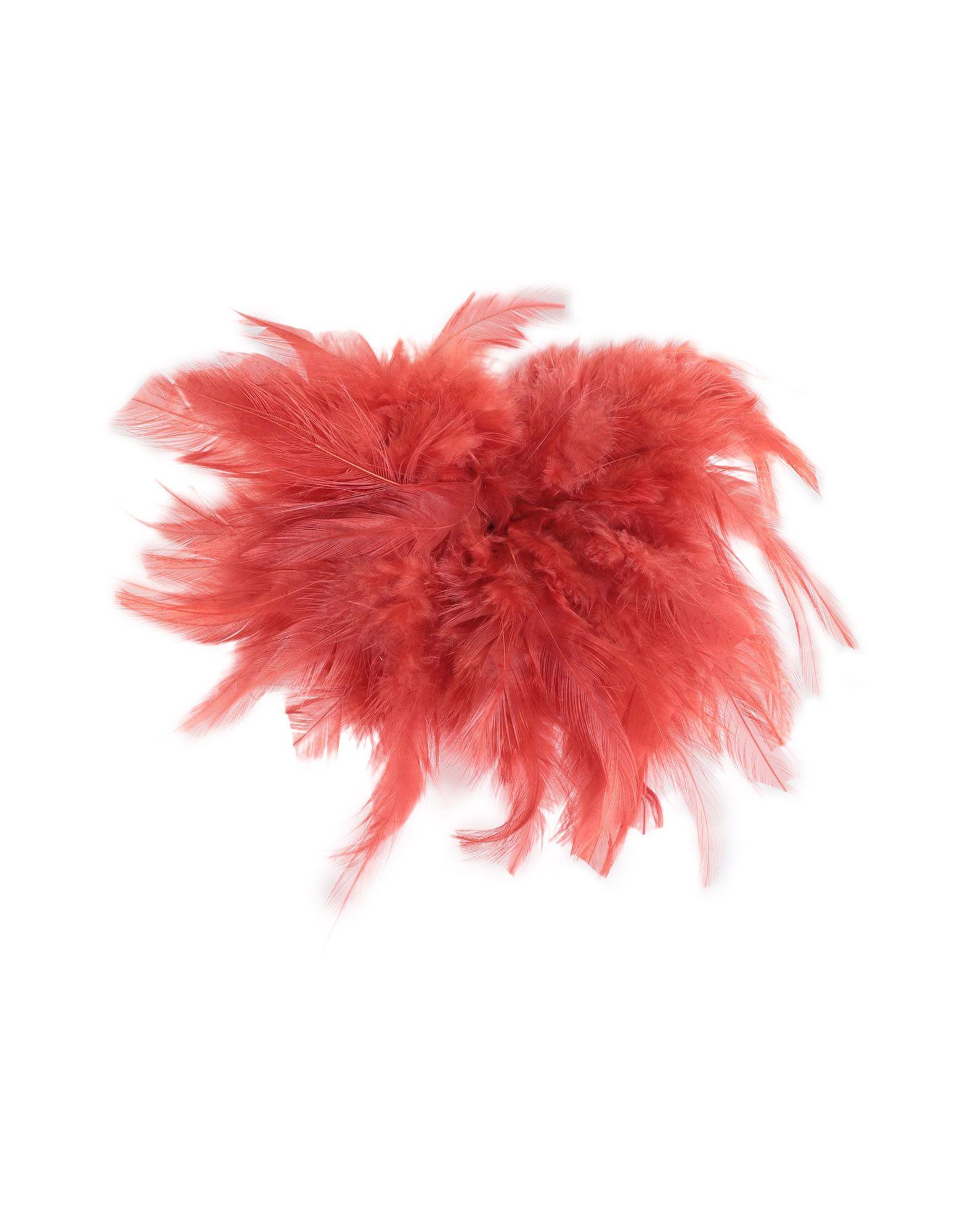 YOOX.COM(ユークス)《セール開催中》JUCCA レディース ブローチ 赤茶色 紡績繊維
