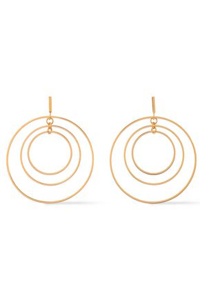 TORY BURCH Gold-tone earrings