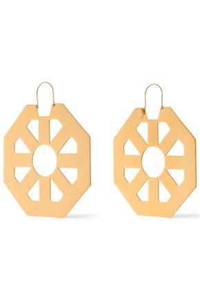 TORY BURCH Gold-tone earrings