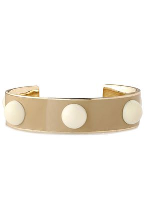 TORY BURCH Gold-tone resin cuff