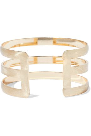 KENNETH JAY LANE Gold-tone cuff
