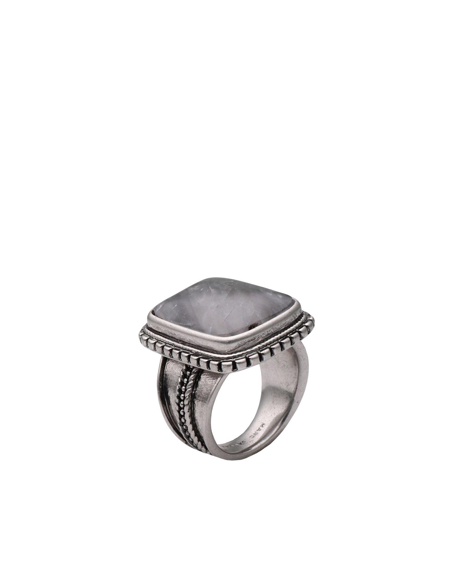 《期間限定 セール開催中》MARC JACOBS レディース 指輪 シルバー one size シルバー925/1000 INVISIBILITY RING