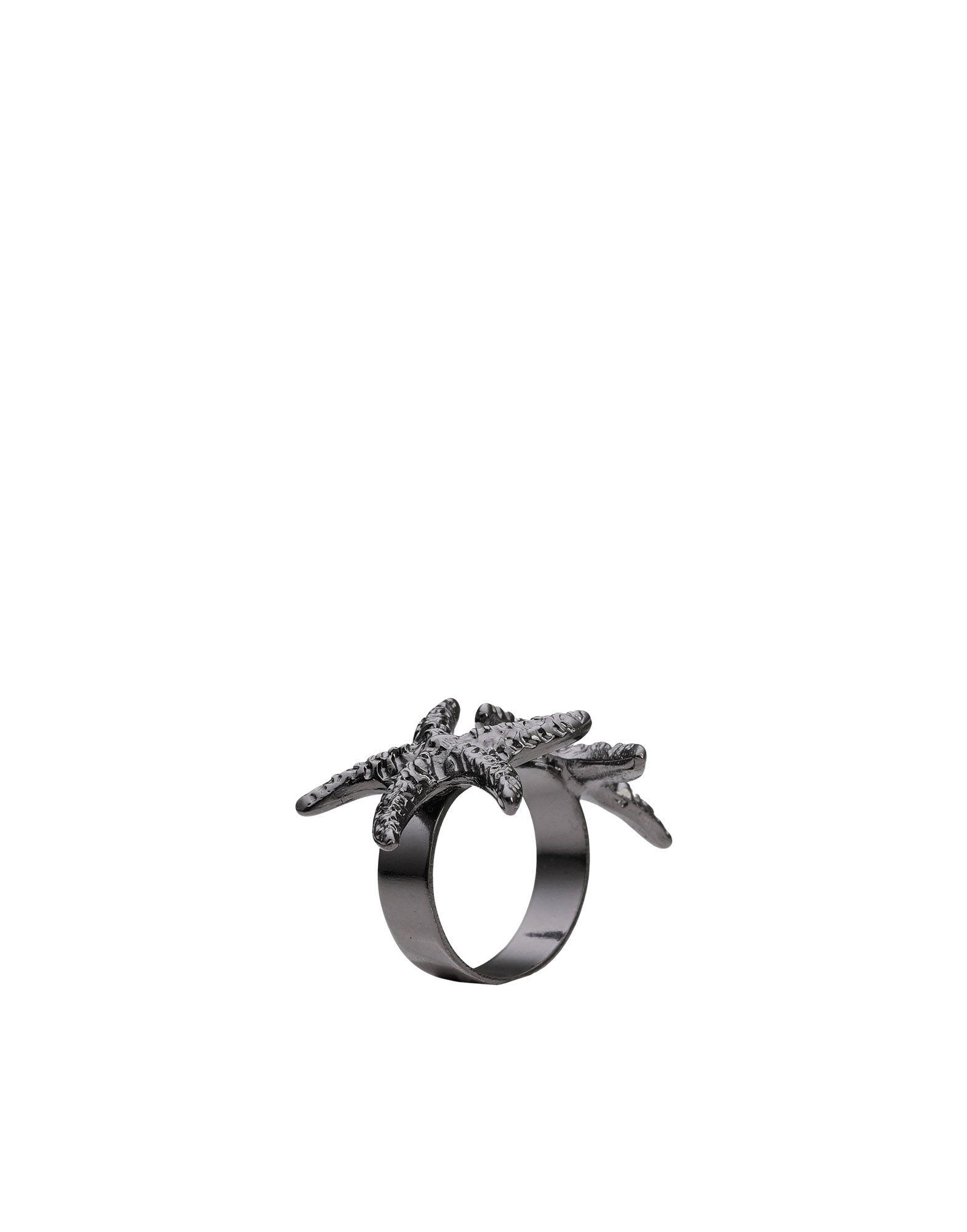 《送料無料》ORTYS OFFICINA MILANO レディース 指輪 鉛色 one size 真鍮/ブラス