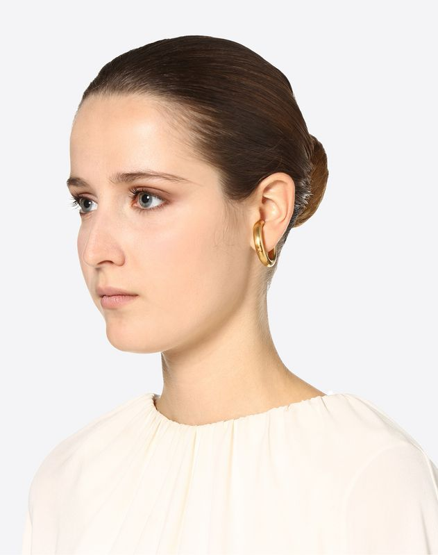 Earrings with Stud Details