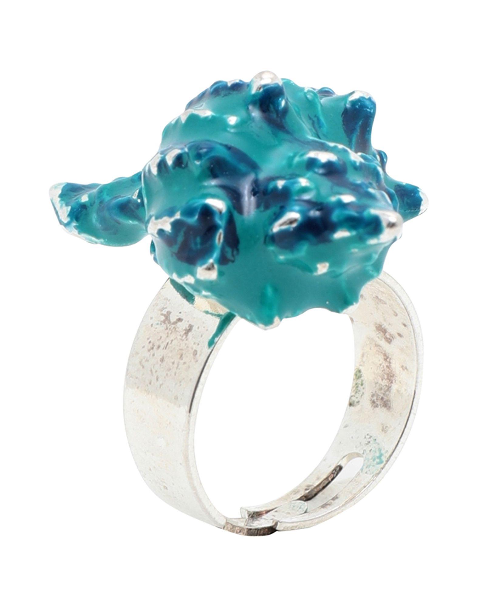《期間限定セール開催中!》ORTYS OFFICINA MILANO レディース 指輪 シルバー one size 真鍮/ブラス