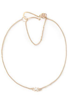 MELISSA JOY MANNING 14-karat gold and pearl bracelet