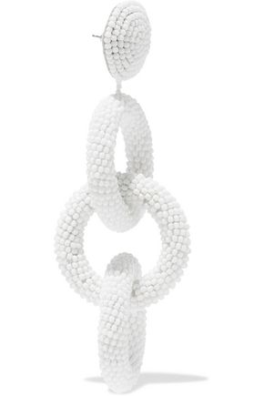 KENNETH JAY LANE Beaded earrings