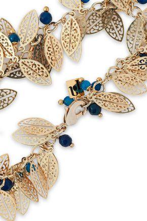 ROSANTICA Gold-tone beaded bracelet