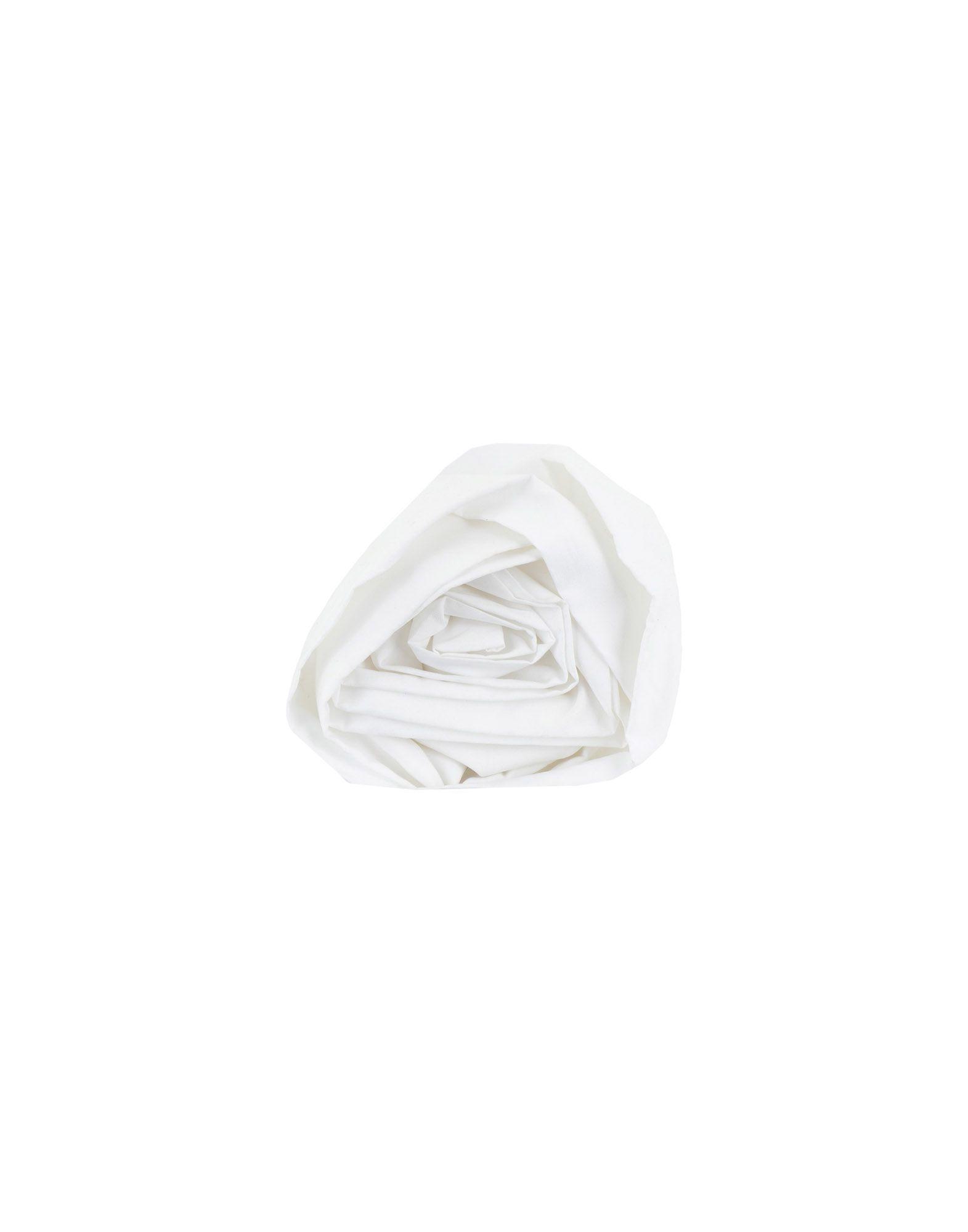YOOX.COM(ユークス)《期間限定セール開催中!》ETRO レディース ブローチ ホワイト 紡績繊維 / 金属
