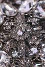 OSCAR DE LA RENTA Silver-tone crystal necklace