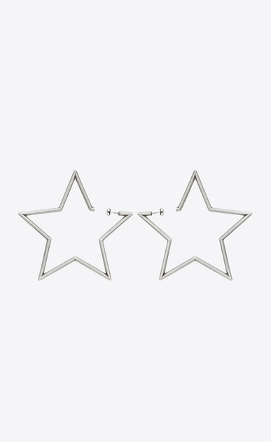 STARS oversized earrings in metal