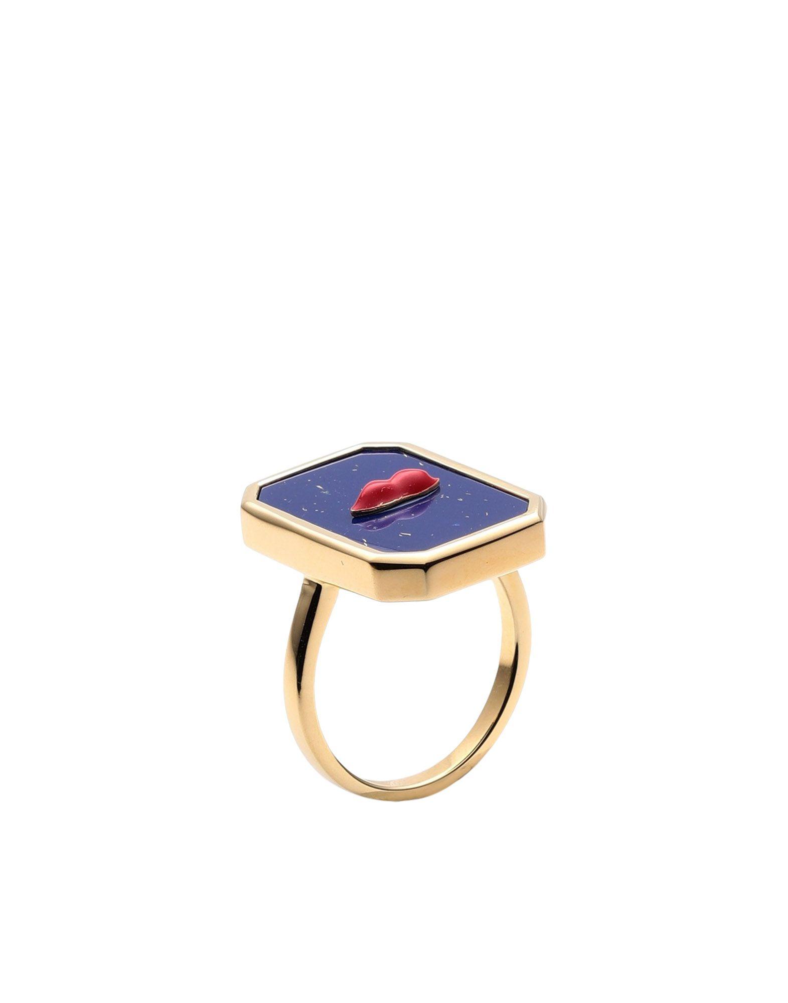 《セール開催中》ESHVI レディース 指輪 ブルー 7 シルバー925/1000 / ポリウレタン