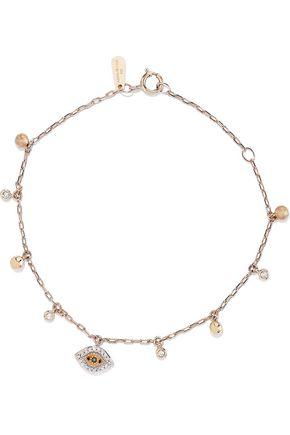 ADINA REYTER 14-karat gold diamond bracelet